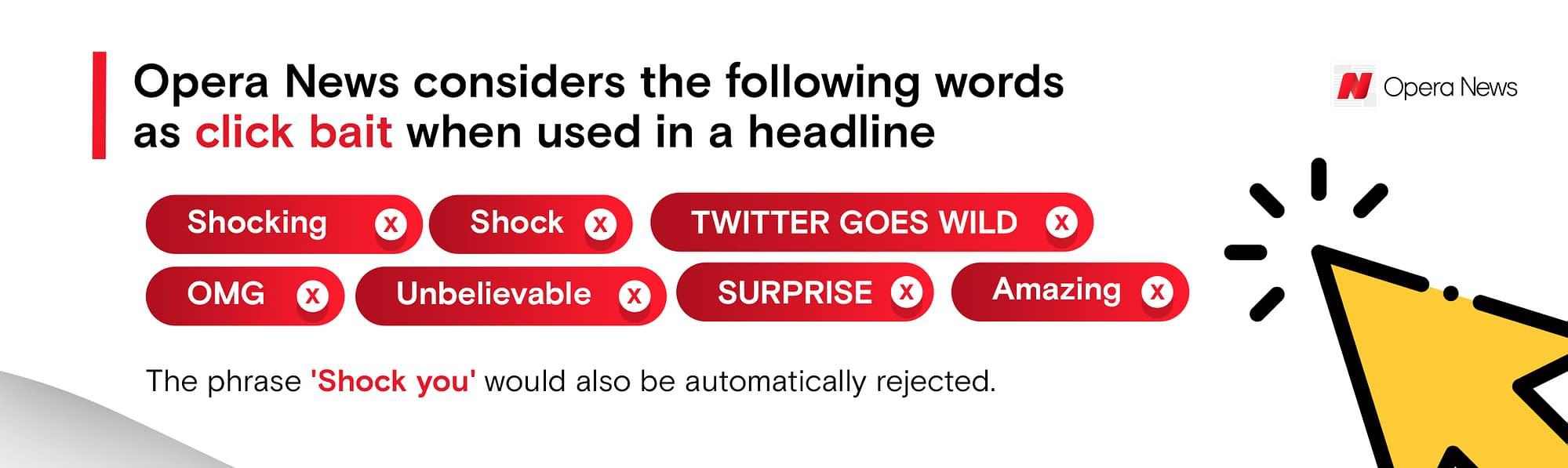 opera news hub banned words