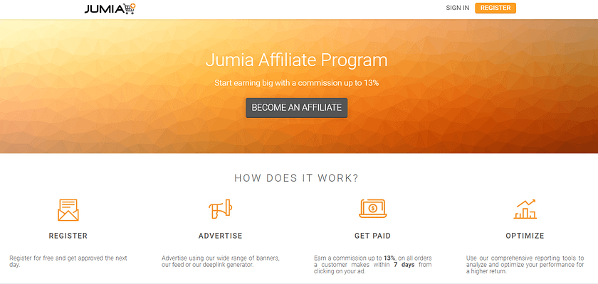 jumia affiliate program